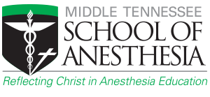 Middle Tennessee School of Anesthesia Logo
